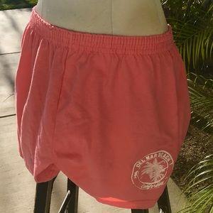 Running or beach shorts melon size XL